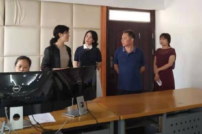 省广电局副局长张红艳到我市开展推动广播电视高质量发展专题调研