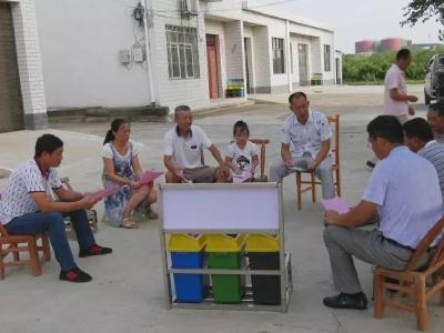 安陆市烟店镇垃圾分类试点工作:教育一个村民,带动一个家庭,文明整个村湾