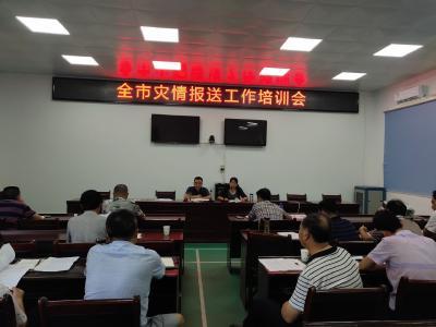 市应急管理局组织开展乡镇灾情信息员专题培训