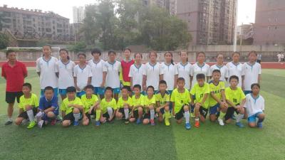 安陆女足积极备战省青少年足球锦标赛