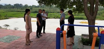 孝感市文旅局副局长谢军甫一行来安陆市文旅局调研体育工作