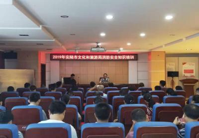 安陆市文化和旅游局开展消防安全知识培训