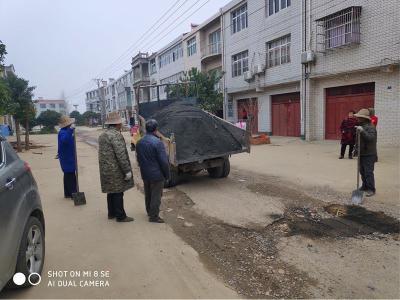 棠棣镇:畅通农村道路  打造民生工程