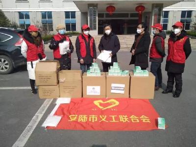 紧急时刻,安陆志愿者上街大宣传