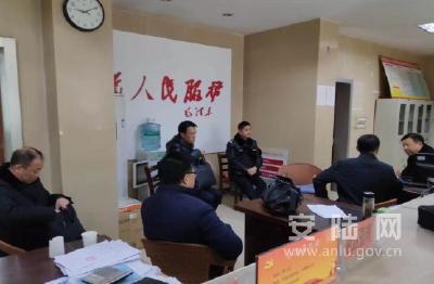 刘敦锋到陈店乡调研反电信网络诈骗工作
