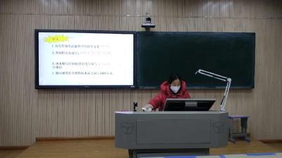 """停学不停课,安陆市实验初级中学开设""""空中课堂"""