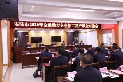 放大招,现场授信近18亿 ——安陆市召开2020年金融助力企业复工复产银企对接会
