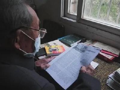 初心映照夕阳红——安陆91岁老党员缴纳3000元特殊党费