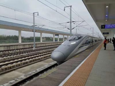 汉十高铁安陆西站恢复运行