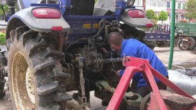 安陆市已维修农机367台(套) 以技术保障春耕生产
