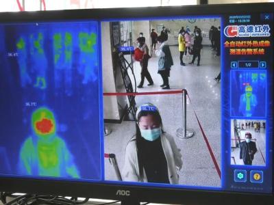 安陆市普爱医院疫情防控再添智能助手