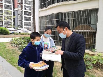 府城紫金路小学:抓紧抓实线上教学