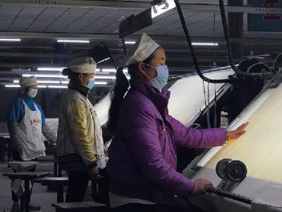 湖北安棉:防疫复工两不误