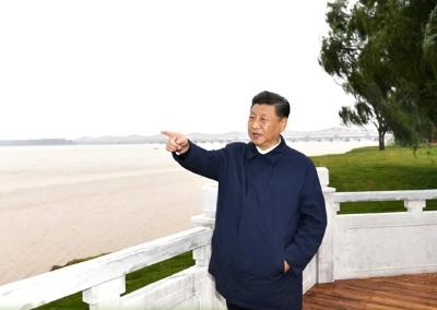 """北京世园会一年间,看习近平的""""生态""""足迹"""