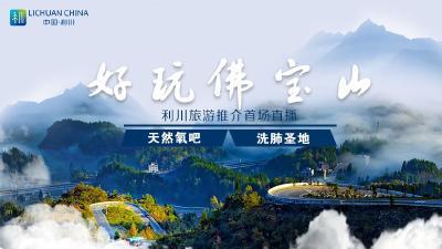 利川旅游推介首场直播——好玩佛宝山