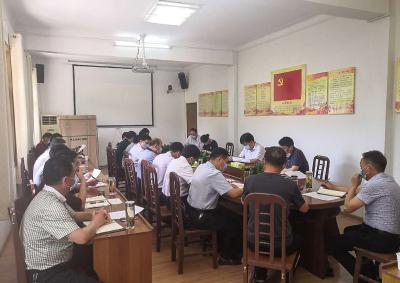 安陆市召开生产经营类事业单位改革工作领导小组联席会议
