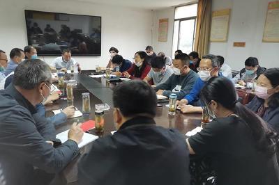 市农业技术推广中心召开党组织书记抓基层党建述职评议大会