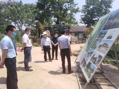安陆市领导调研文化旅游产业重点项目复工复产工作
