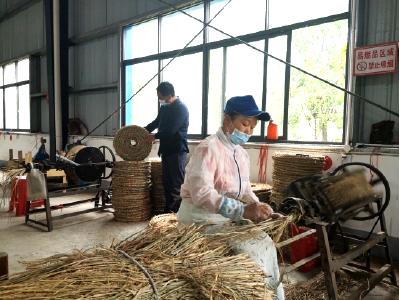 400台!10000块!——安陆市雷公镇草绳编织产业助贫困户脱贫增收 