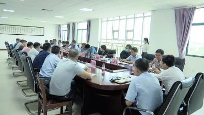 胡明刚率工业服务专班赴开发区调研座谈