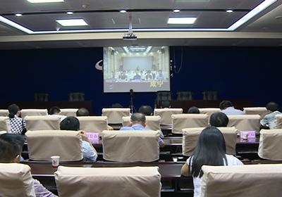 赤壁收看咸宁市推进供销社综合改革电视电话会