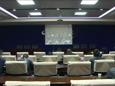 赤壁市收看全省推进品牌强省建设电视电话会