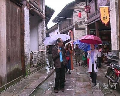中央文化部老艺术家合唱团来赤壁采风创作