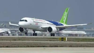 国产大型客机C919将于5月5日在上海浦东机场首飞