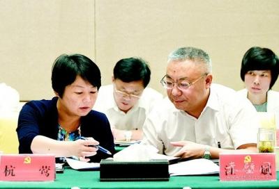 咸宁代表团认真审议工作报告 找准发展方位