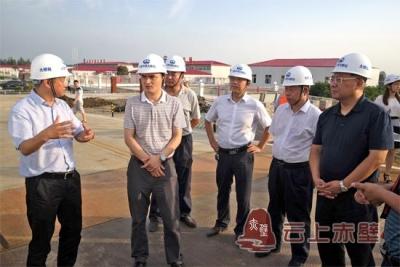 省发改委领导来赤壁市调研赤壁长江大桥项目建设进展情况