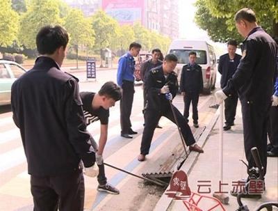 """市城管执法局:强化""""三车""""整治 优化街道环境"""