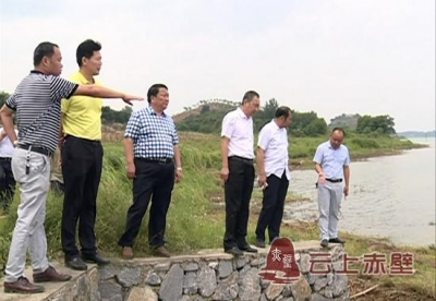 市政协组织视察赤壁市湖泊湿地保护和生态修复工作