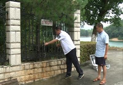 赤壁市积极开展饮用水水质检测工作