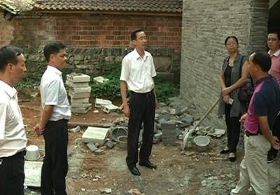 尤晋到赤马港办事处开展党代表联系基层活动