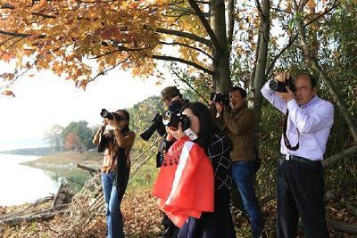 赤壁这个地方有颜值有内涵!摄影爱好者纷纷前往拍美照