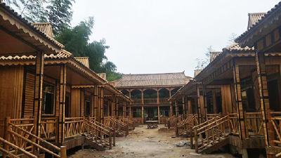 随阳·爱情文化小镇项目主体完工