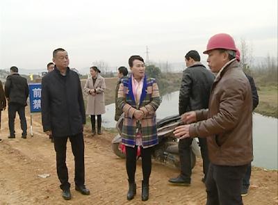 市人大督办代表意见建议办理暨水利项目建设工作