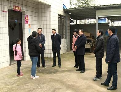 咸宁市人大来赤走访慰问基层人大代表