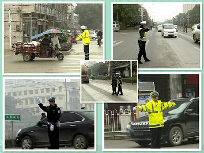 赤壁交警全警上路 只为了……