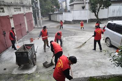 赤壁市深入开展新时代文明实践志愿活动