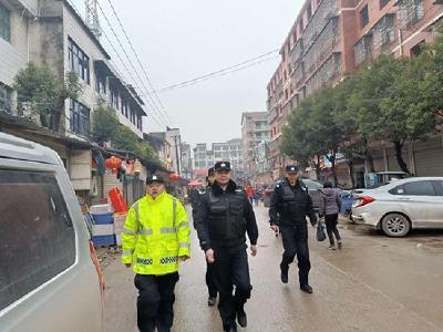 车埠派出所召开春节安保动员会 确保春节祥和平安