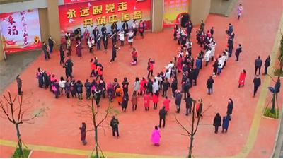新春走基层•志愿在行动 赤壁市新时代文明实践活动在路上