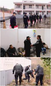 公安民警学雷锋 传递社会正能量