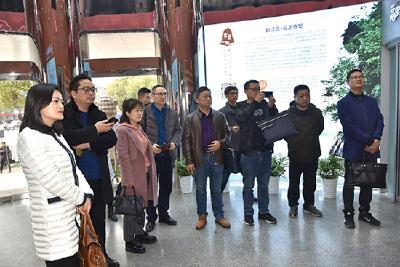 快讯|长阳县委宣传部参观学习赤壁市融媒体中心建设工作