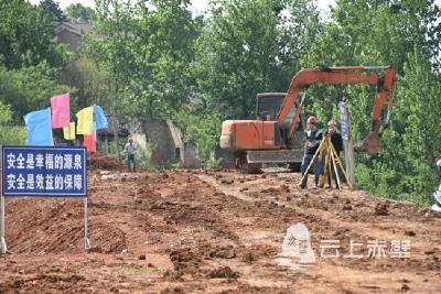 赤壁:防渗固堤 确保安全度汛