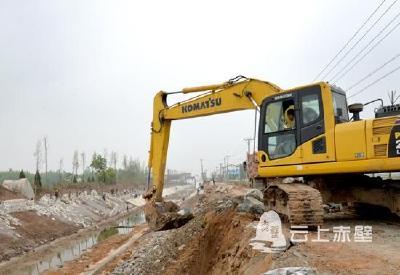 投资388万元!赤壁市改造乡村水渠 整治美化并重