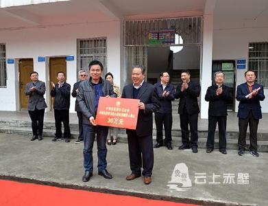 """中国志愿服务基金会""""隆善""""专项基金30万元 助力赤壁市爱心教育事业"""