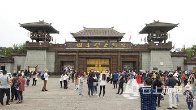 """""""五一""""小长假赤壁市旅游市场火爆 共接待游客48.17万人次"""