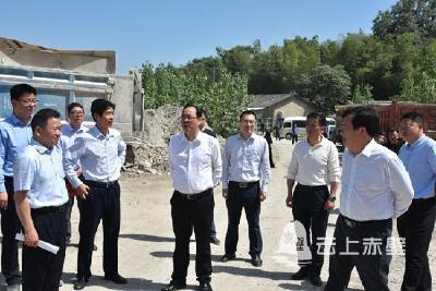 盛文军调研督办赵李桥环境保护工作 以最高标准 最严要求 最有力措施 加快推进环境改善和生态修复