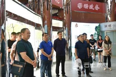 快讯|湖南省新邵县委宣传部参观学习赤壁市融媒体中心建设工作